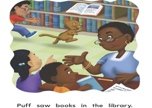 绘本故事(双语):猫在学校? - gyyxkxyb - 天下最美 小精灵的快乐家园201201