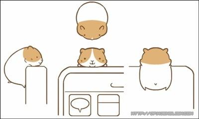看动漫学日语_激萌仓鼠防尘塞:我什么也不想做