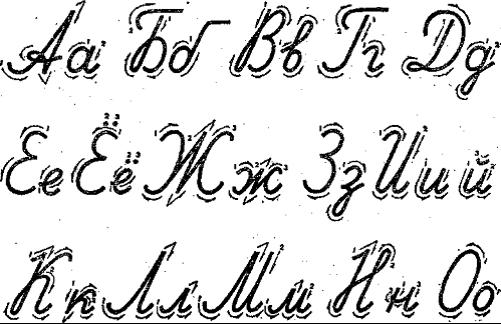 趣味俄语:俄语字母的拉丁写法