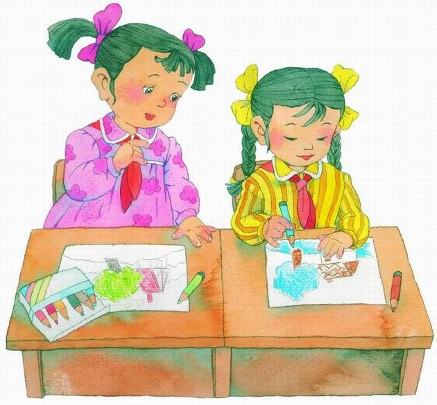 二年级语文上册蓝色的树叶图片素材