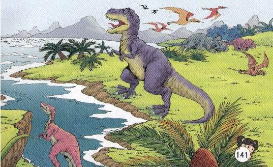 恐龙的灭绝之谜短文