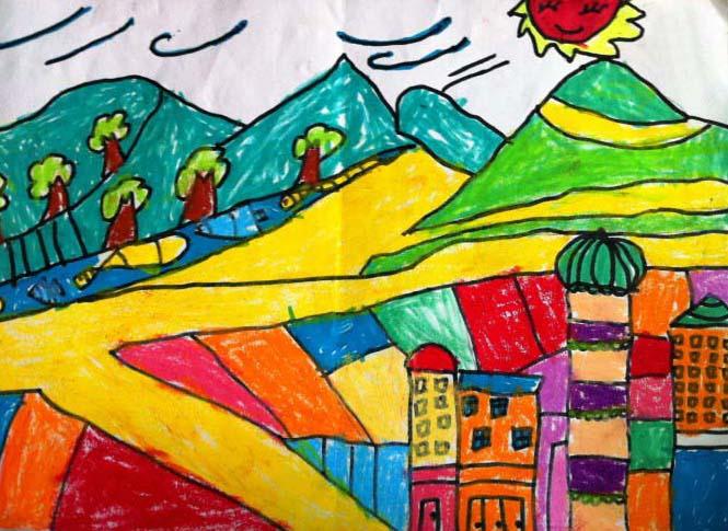 一年级语文下册《画家乡》图片素材
