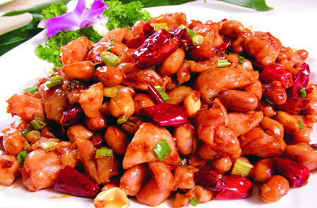 se789pao_chinese food 43: kung pao chicken vs gong bao chicken宫爆鸡丁和