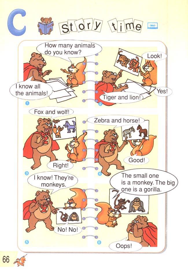 pep小学英语三年级下册: 第六单元 在动物园(c部分)