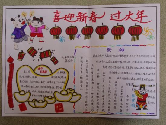 春节小报(1)