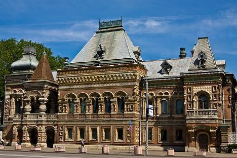 凝固的历史:莫斯科7大仿俄罗斯风格建筑(一)