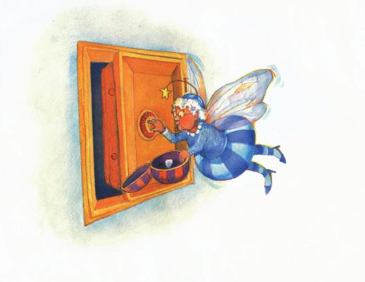 绘本故事(双语):不错的尝试哦,牙齿仙女 - gyyxkxyb - 天下最美 小精灵的快乐家园201201