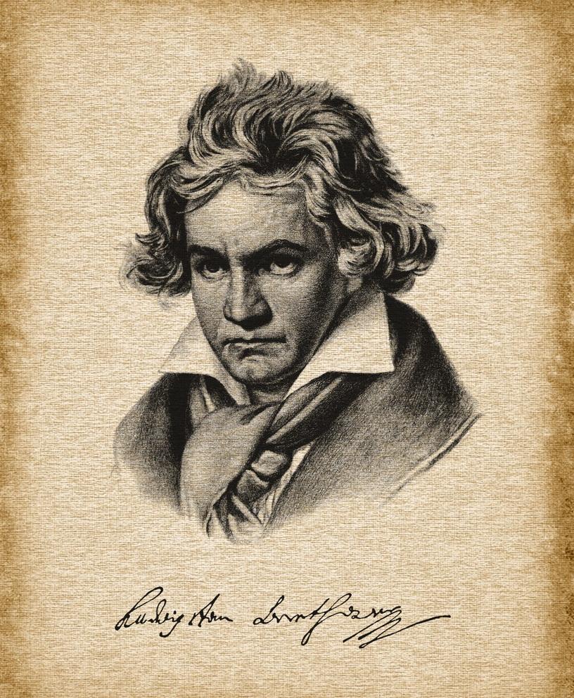 音乐巨人贝多芬图片素材01