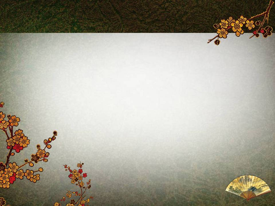 中国风ppt模板背景素材