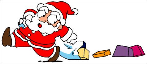 ppt 素材/ppt素材分享:卡通圣诞老人