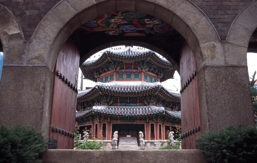 中国特色古建筑
