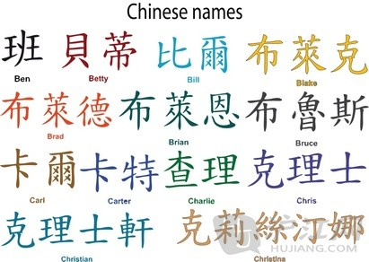 chinese names meaning learn chinese hujiang