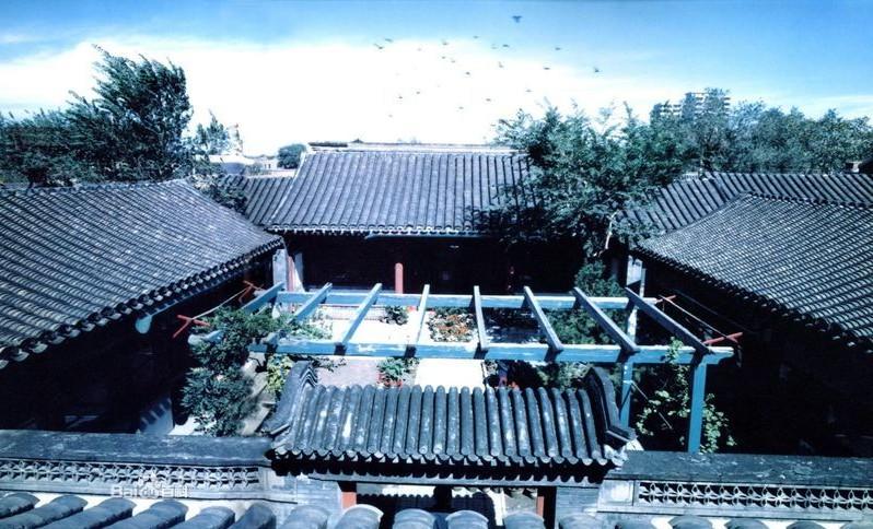 北京传统文化 四合院