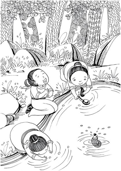 动漫 简笔画 漫画 手绘 线稿 419_589 竖版 竖屏