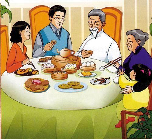 中国餐桌礼仪