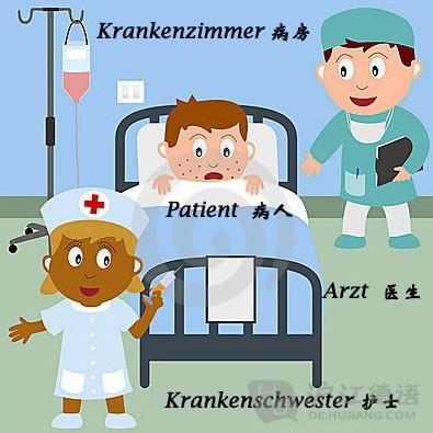 医院病房动漫素材