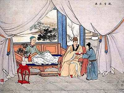 Taste Decoctions of Medicinal Ingredients Personally亲尝汤药