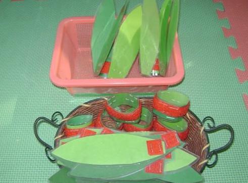 幼儿园手工制作:自制蔬菜