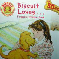 Biscuit Loves...Reusable Sticker Book