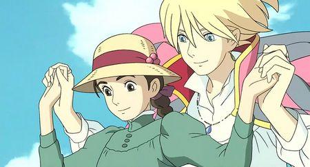 宫崎骏动画电影《哈尔的移动城堡》推荐图片