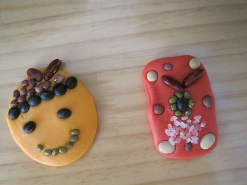 幼儿园手工制作:小班橡皮泥玩具小制作
