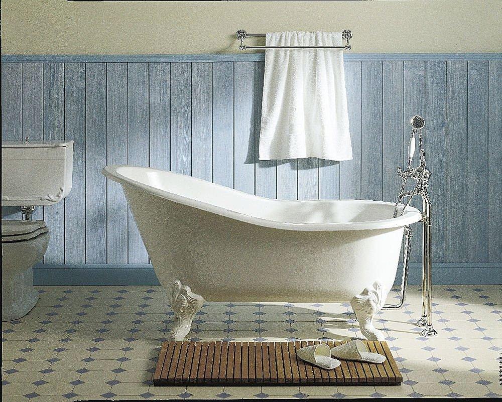 Salle de bain baignoire sur pied – lombards