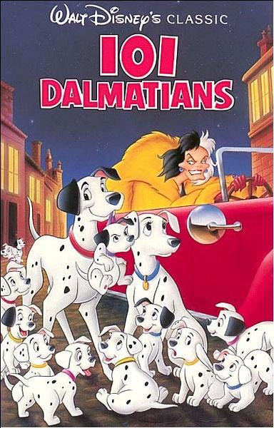 迪士尼动画电影:101忠狗