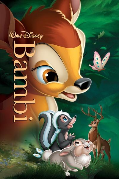 迪士尼动画电影:小鹿斑比