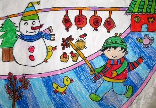 儿童画作品欣赏 儿童画作品