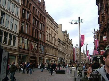 英国伦敦风光风景街