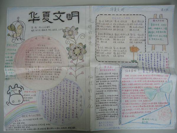 历史手抄报素材:历史故事