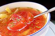 胡萝卜番茄汤