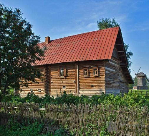 艺术之美:俄罗斯的小木屋