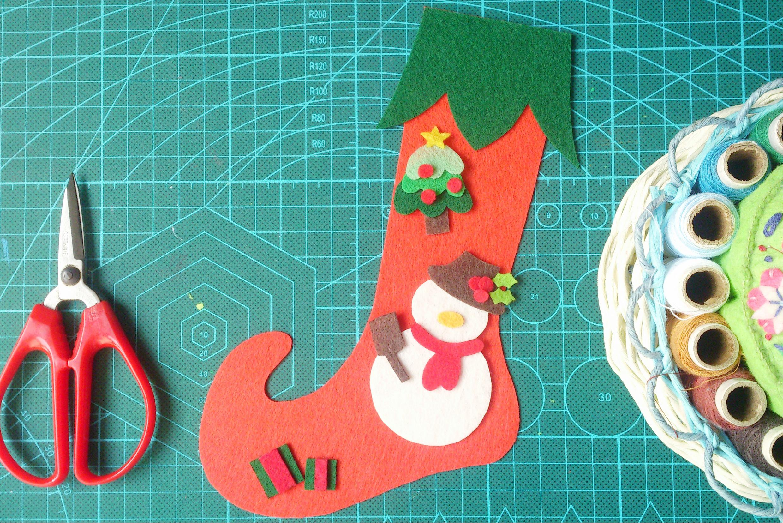 圣诞袜手工制作步骤