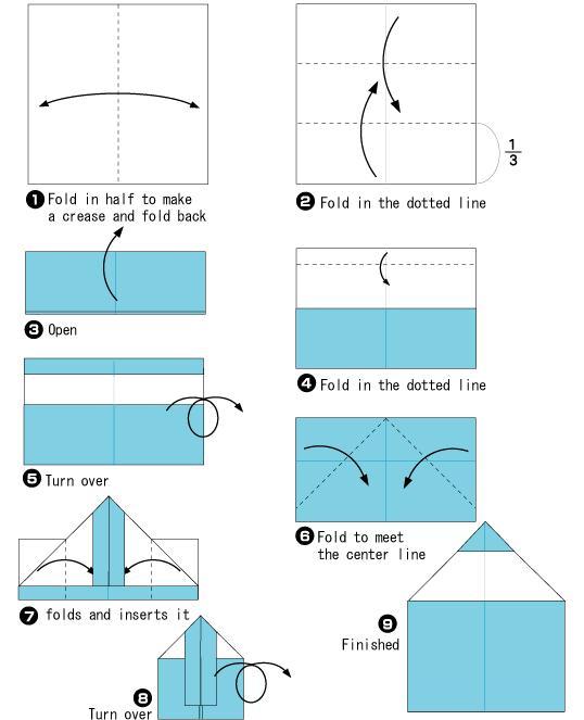 简单易学的手工折纸教程