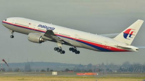 凌晨失踪的马来西亚客机上