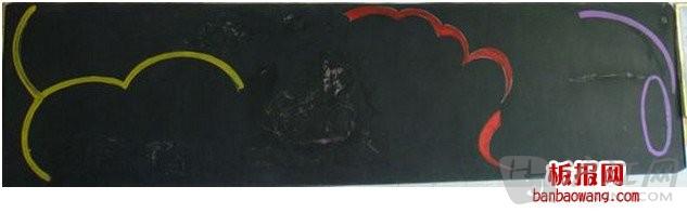 六一儿童节黑板报设计图及宣传语