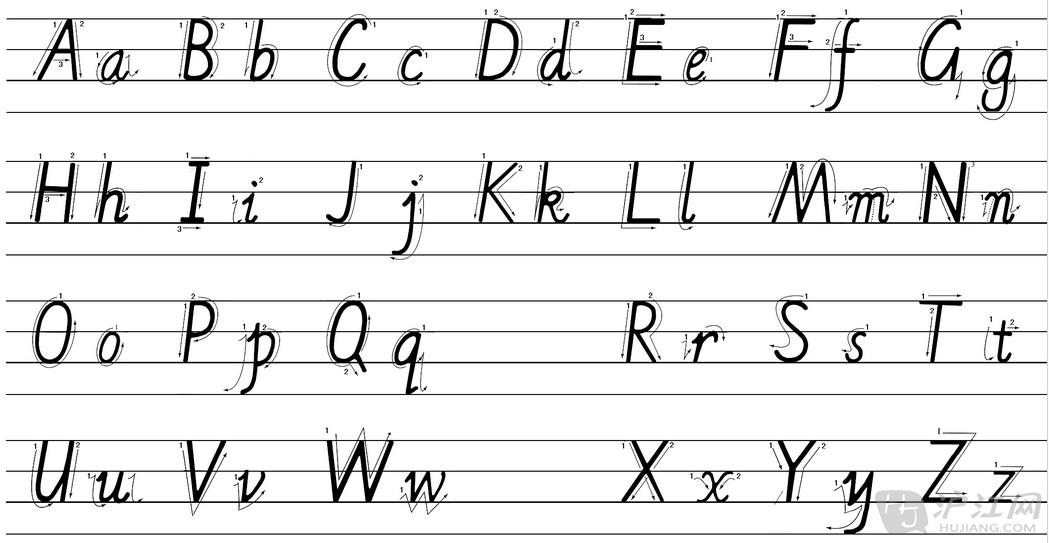 英文字母及发音音标在线解析图片