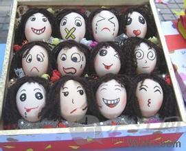 鸡蛋壳手工制作图片