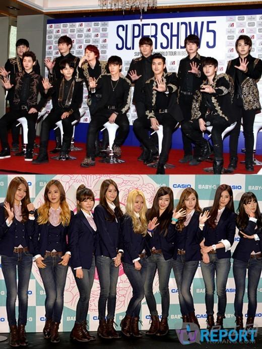 演讲视频 sj&少女时代成员出演中国综艺《最强天团》