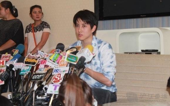 泰星Mike 已确实和泰国女模特诞有一子图片