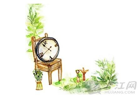 所有的动物们都来借这个神奇的钟表