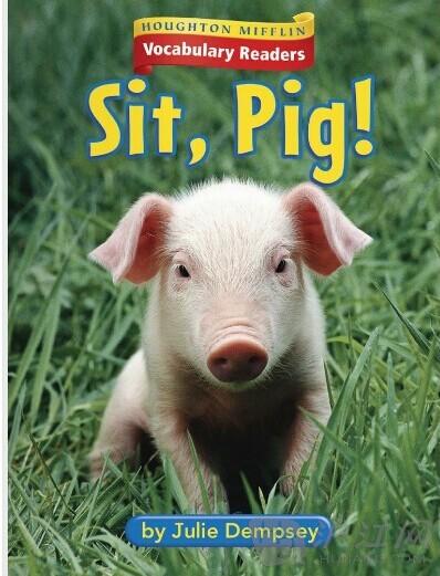 【英文绘本】小猪坐下!