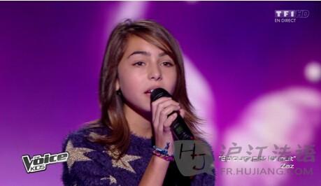 法国好声音儿童版:11岁小萝莉夺冠