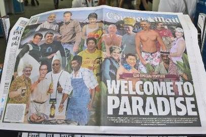 不怕被查水表?澳洲小报调侃g20峰会领导人