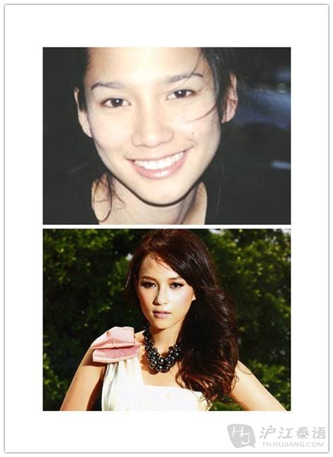 泰国明星素颜照,粉丝们看过来 一 高清图片