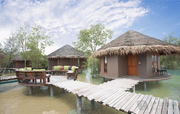 马拉喀什华欣水疗度假村位于泰国一个美丽的海滨