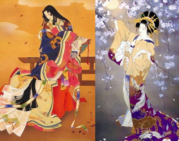 东瀛风情之日本和服