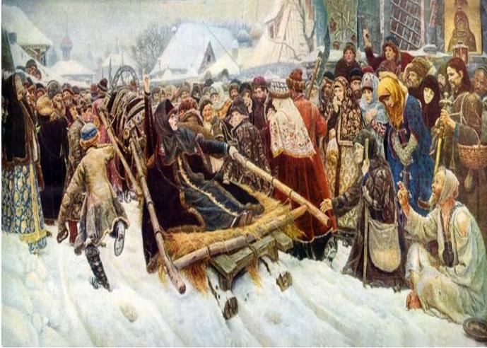 18-20世纪俄罗斯著名的画家和及其代表作(一)