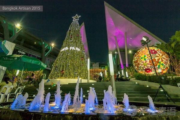 曼谷商场里那些美丽的圣诞树(上)